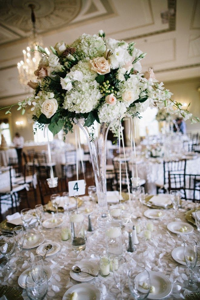 Wedding Centerpieces With Glamour Centrepieces And Weddings