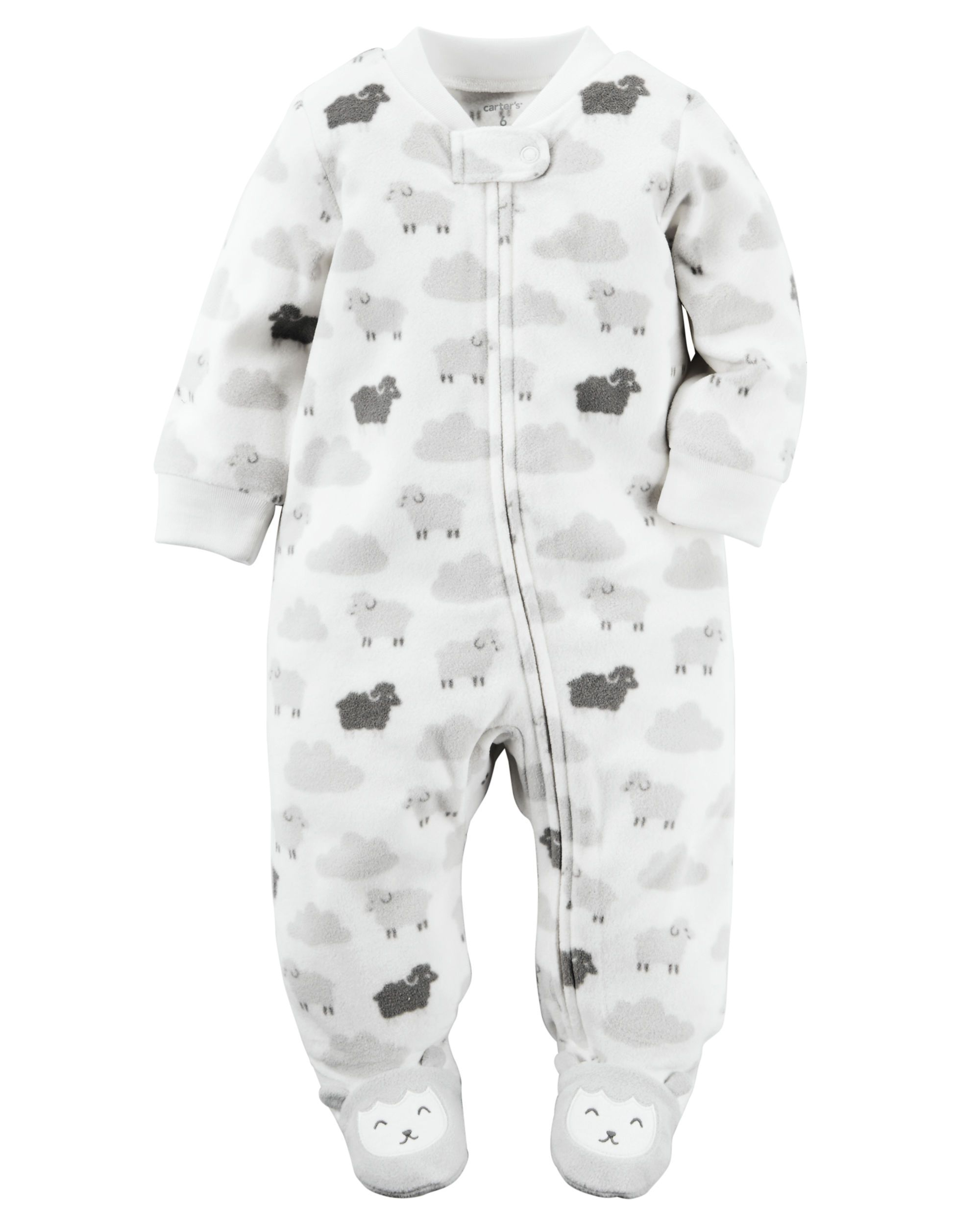 Fleece Zip Up Sleep Play Babies Clothes Babies And Baby Things