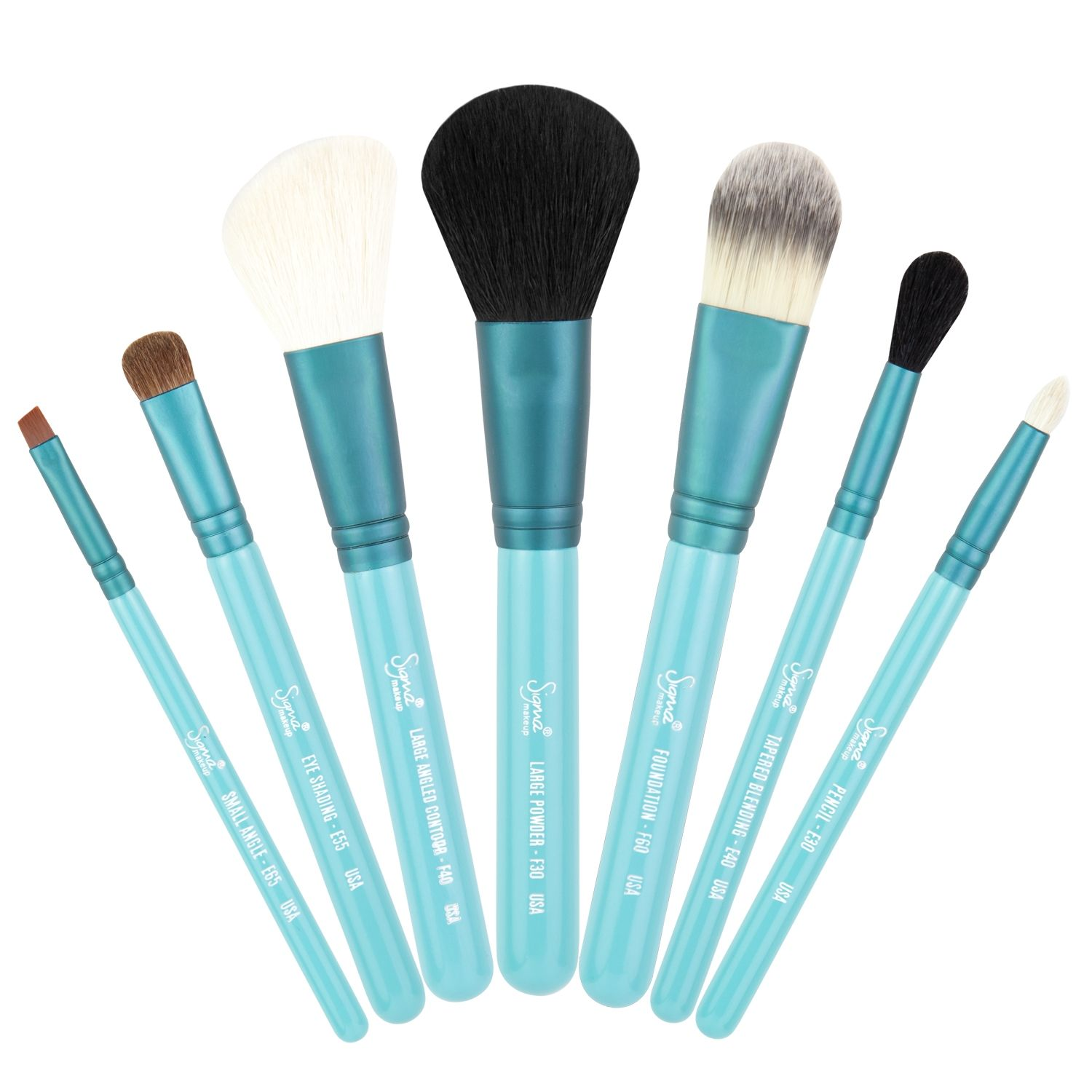 Travel Kit Make Me Cool Eye brushes set, Travel size