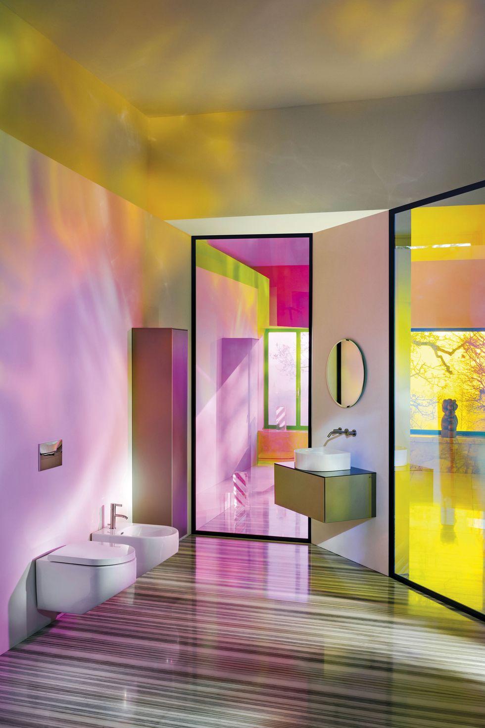 Los cuartos de baño más vanguardistas   Techos de baños ...