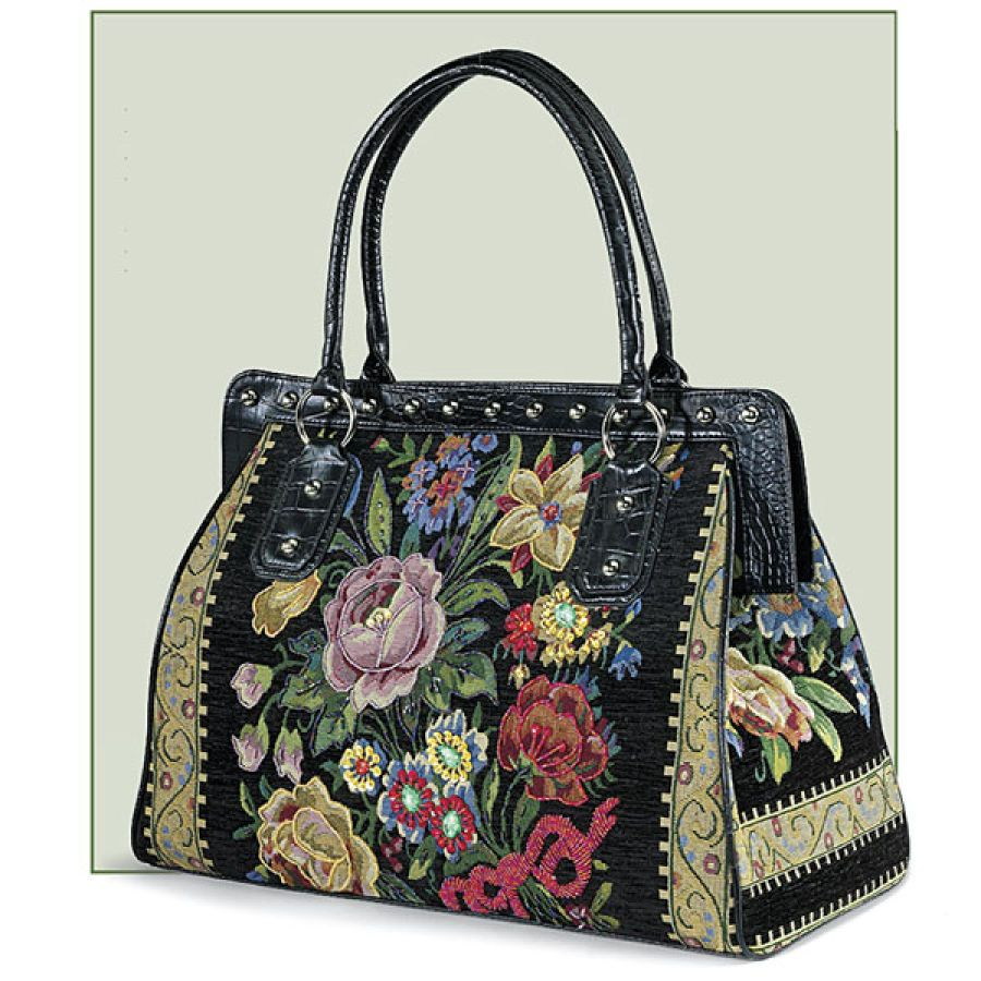 Flower Shop Carpet Bag Gifts Clothing Jewelry Home Decor And Home Furnishings As Featured In Popular Catalogs Catalog Fa Carpet Bag Bags Purses And Bags