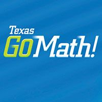 Texas GO Math! K-5 | Math resources, Math