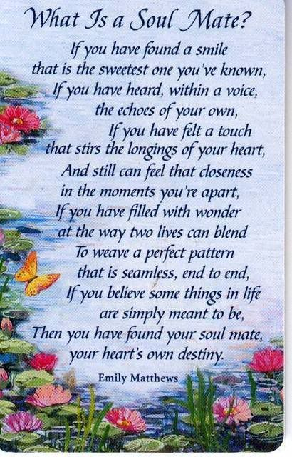 quotes for your soul mate some believe that your destiny will