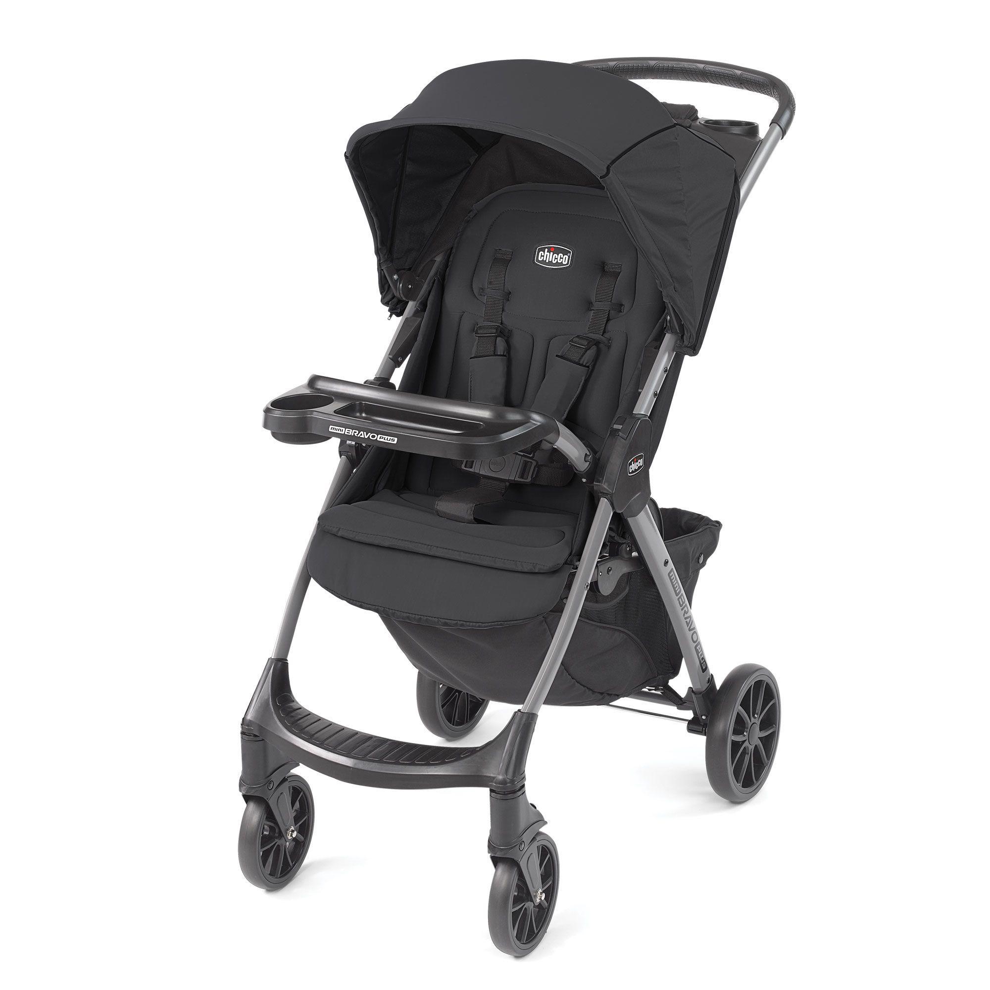 Mini Bravo Plus Lightweight Umbrella Stroller Graphite