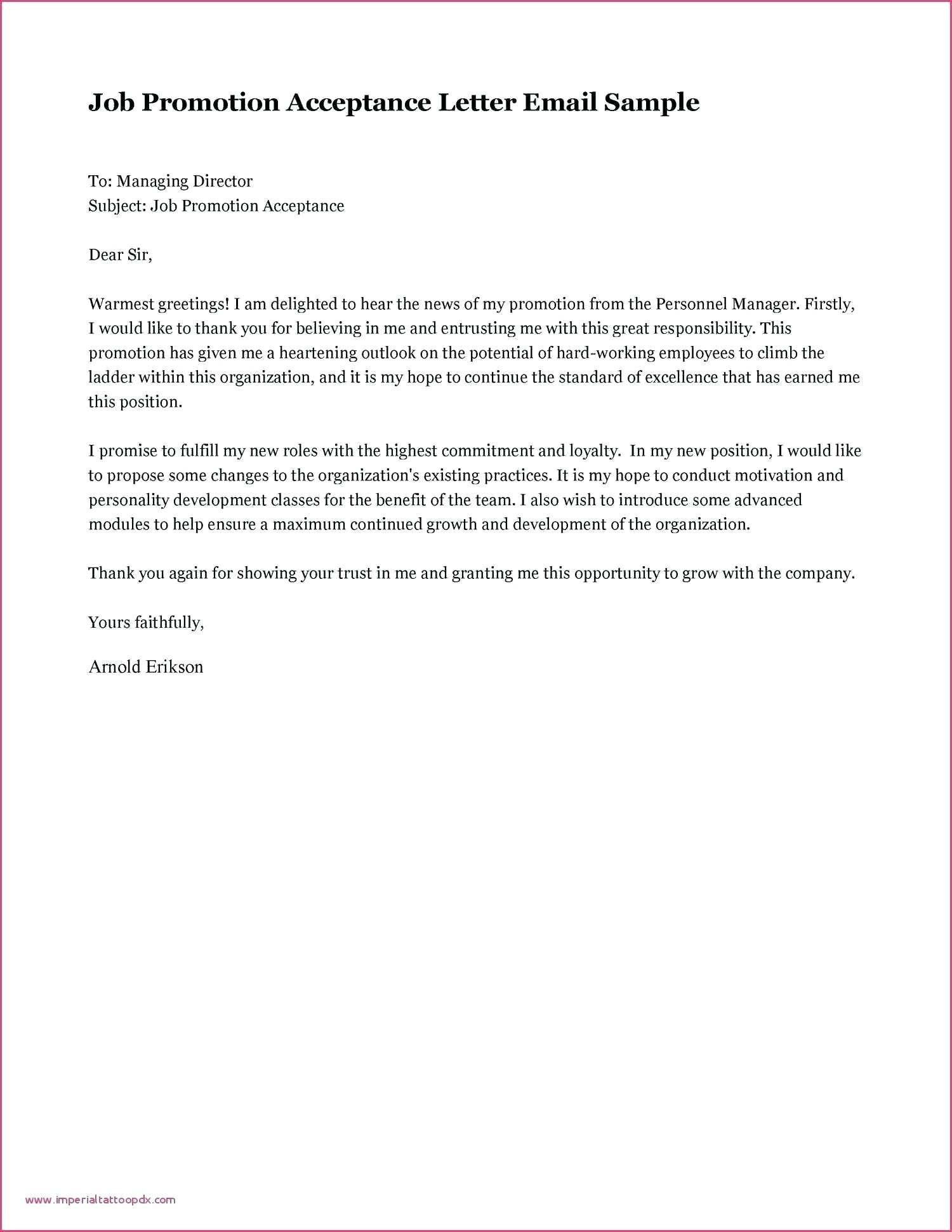 Download Fresh Job Offer Letter Acceptance Email