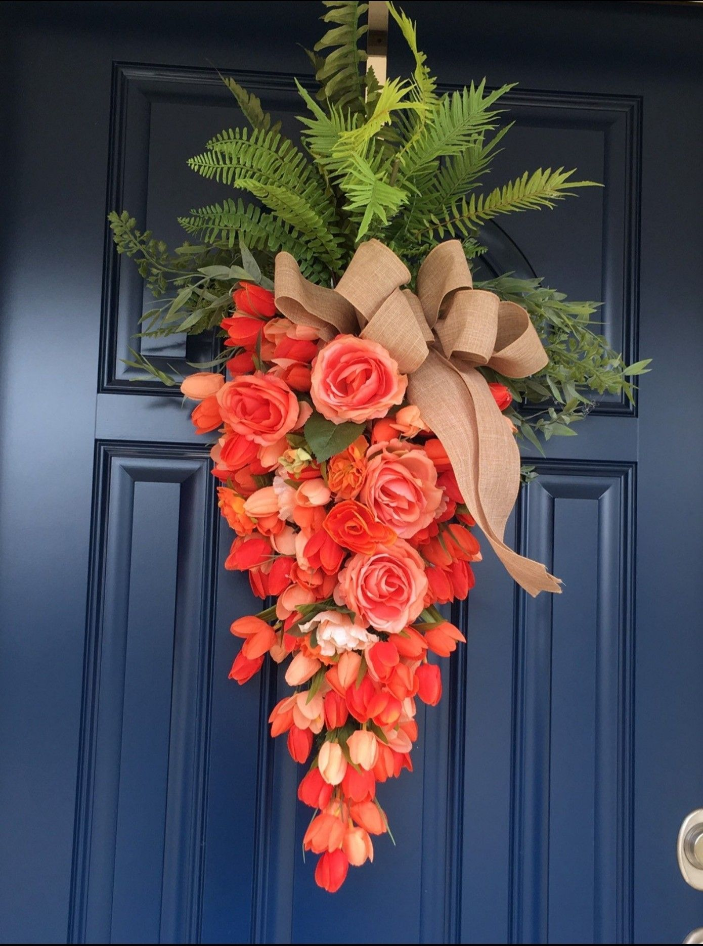Mixed bouquet carrot wreath with Roses Mixed bouquet carrot wreath with Roses