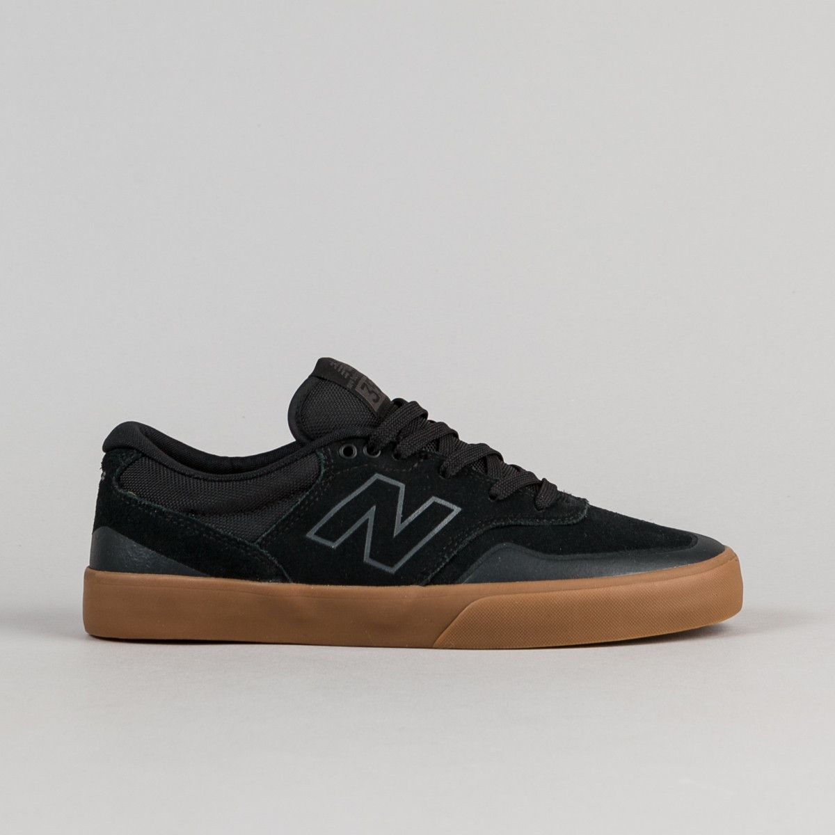 new balance black gum sole