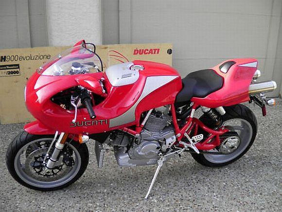 2002 Ducati Mh900e Ducati Ducati Cafe Racer Motorcycle
