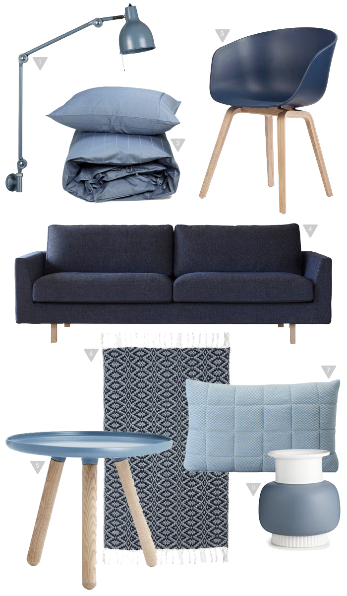 friday favorites blue stylizimo blog house doctor. Black Bedroom Furniture Sets. Home Design Ideas