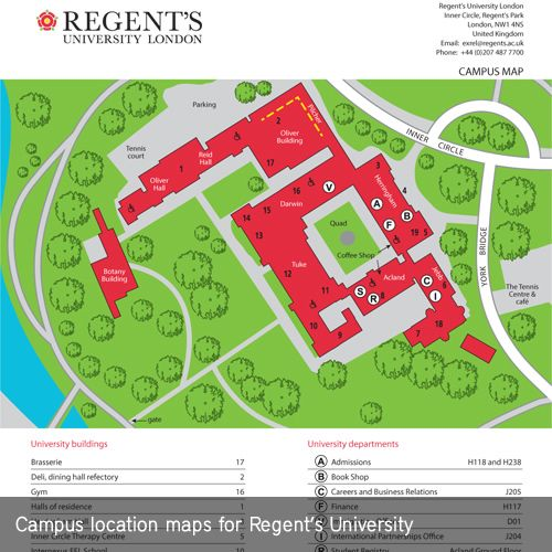 17 Best images about Campus Location – Map University