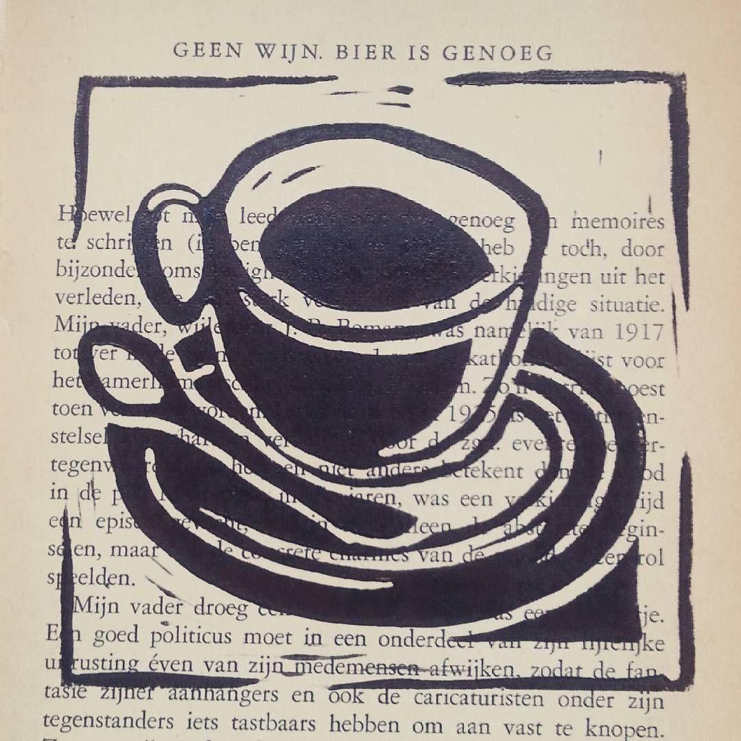 Doe maar koffie #arttotake #drukpersbrigade