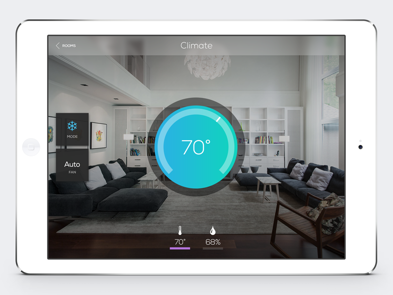 Exceptional Home Automation Interface By Marc Caldwell