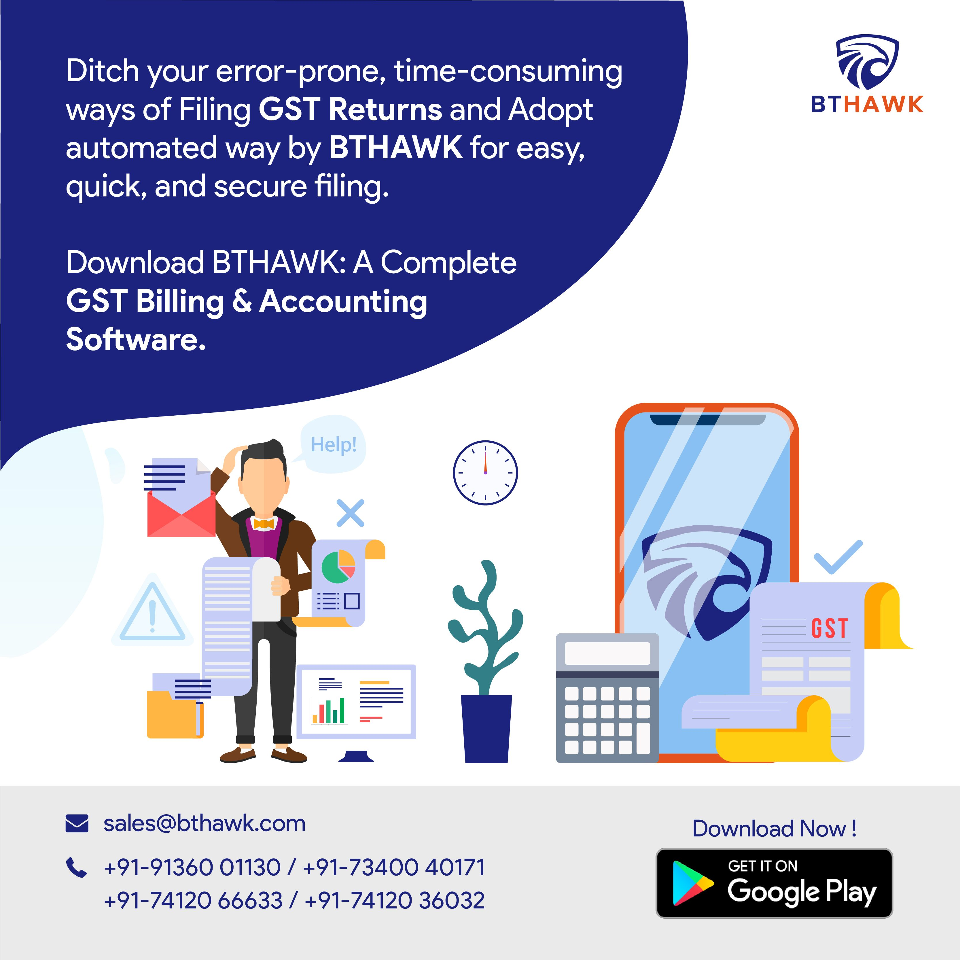 A Complete Gst Billing Accounting Software Billing Software Accounting Software Accounting Services