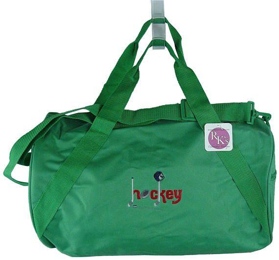 Hockey   Gear Duffel Team Coaching Bag Free Name Monogram  3dce09d859bed