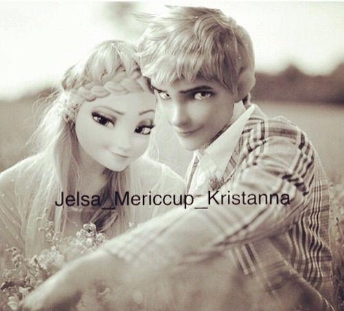 We Heart It 経由の画像 #disney #dreamworks #jackfrost #love #tumblr #elsa #jelsa #elsamodern #jackfrostmodern