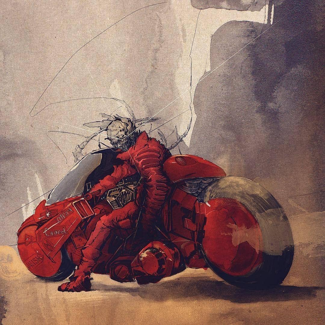 Like otakugangsta Akira, Heavy metal art, Amazing paintings