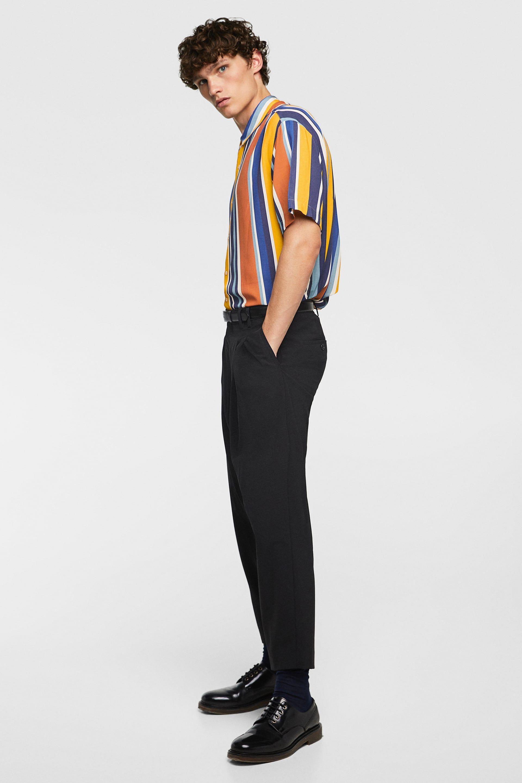 8db22386069984 ZARA - MAN - STRIPED SHIRT #MensFashionSummer   Mens Fashion Summer ...