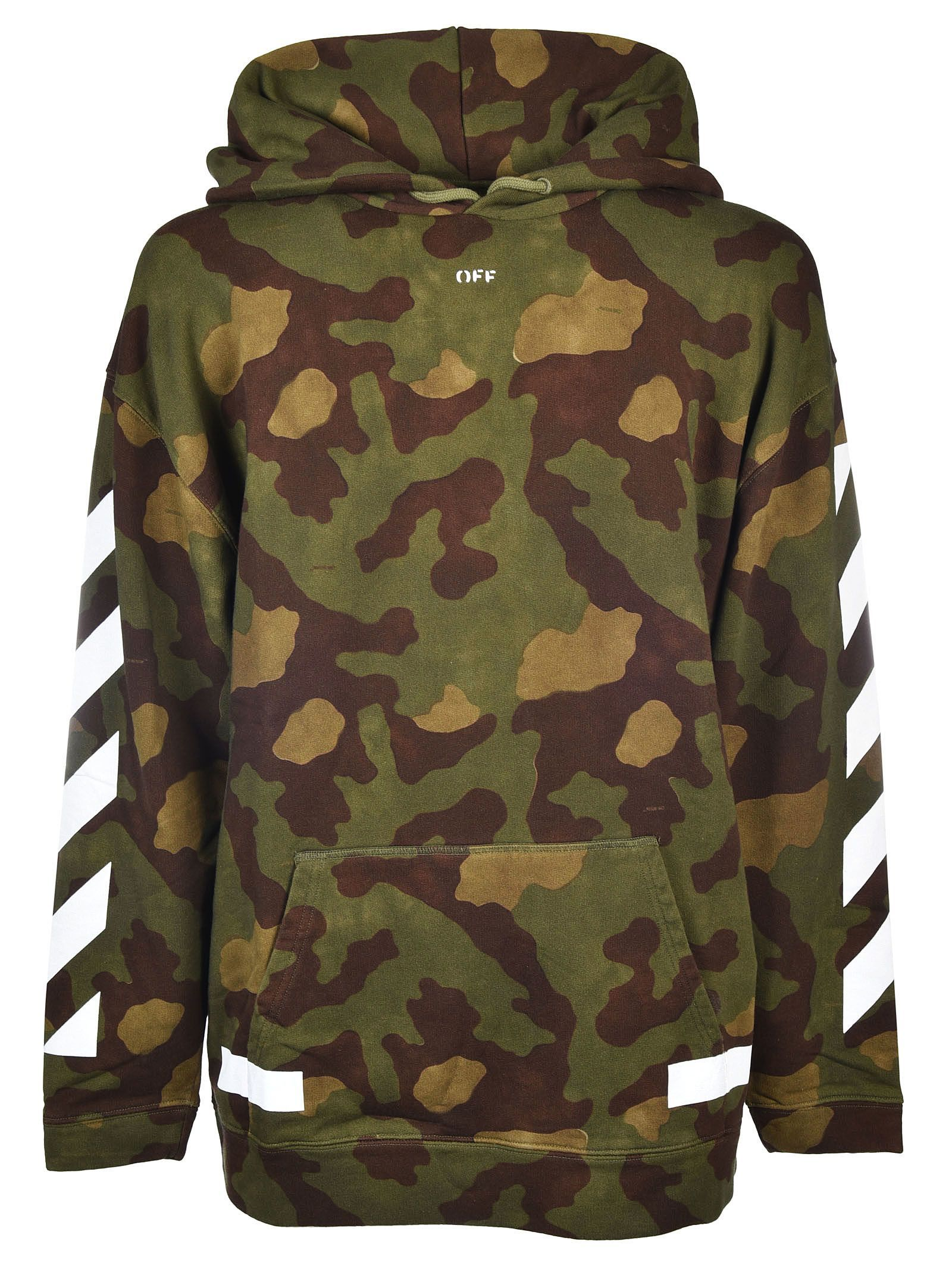 6fc0854611d7 OFF-WHITE OFF-WHITE DIAG CAMOUFLAGE HOODIE.  off-white  cloth ...