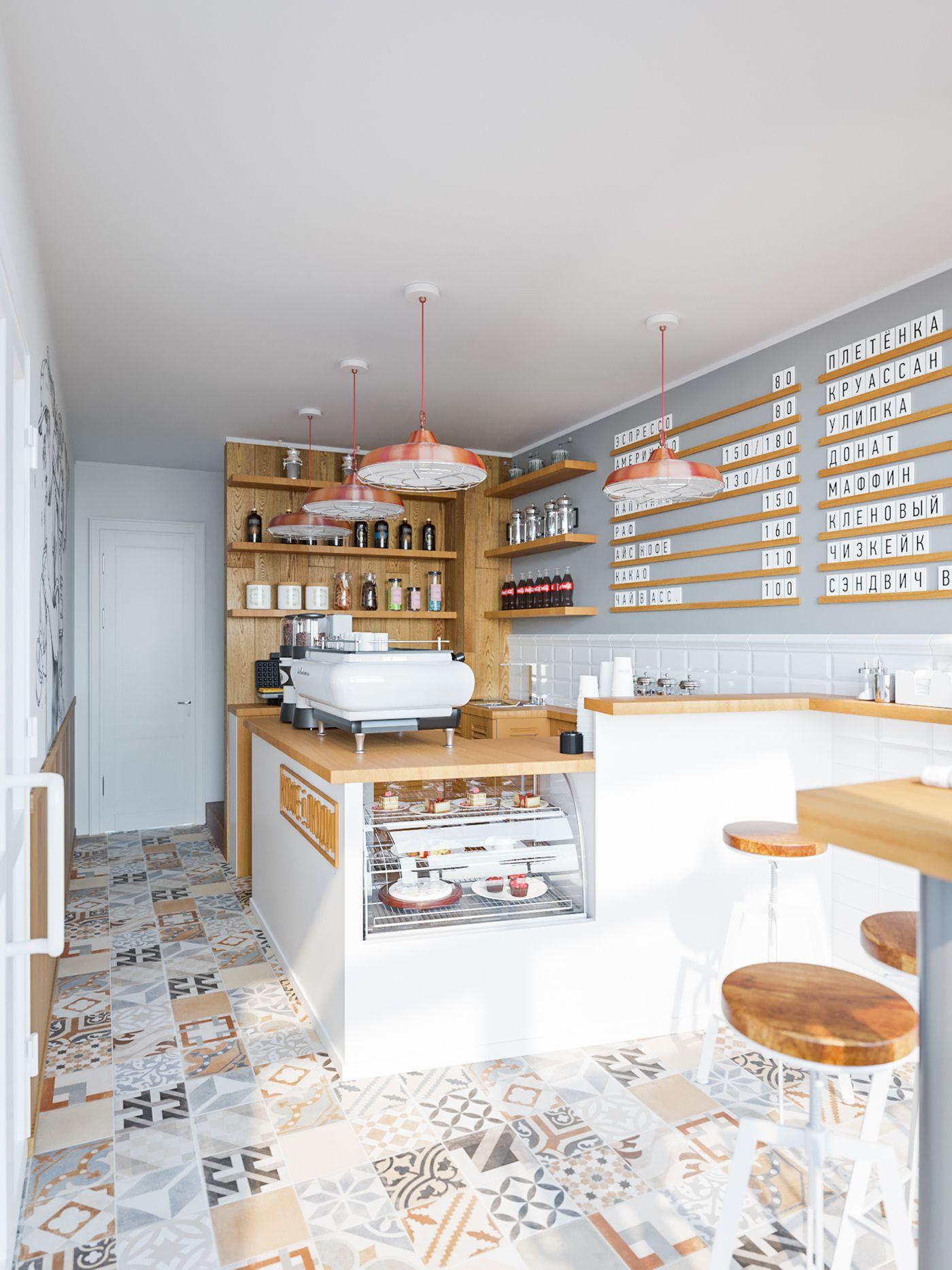 Coffee And People Cafe Interior Интерьер пекарни Дизайн маленького кафе Дизайн фасадов магазина