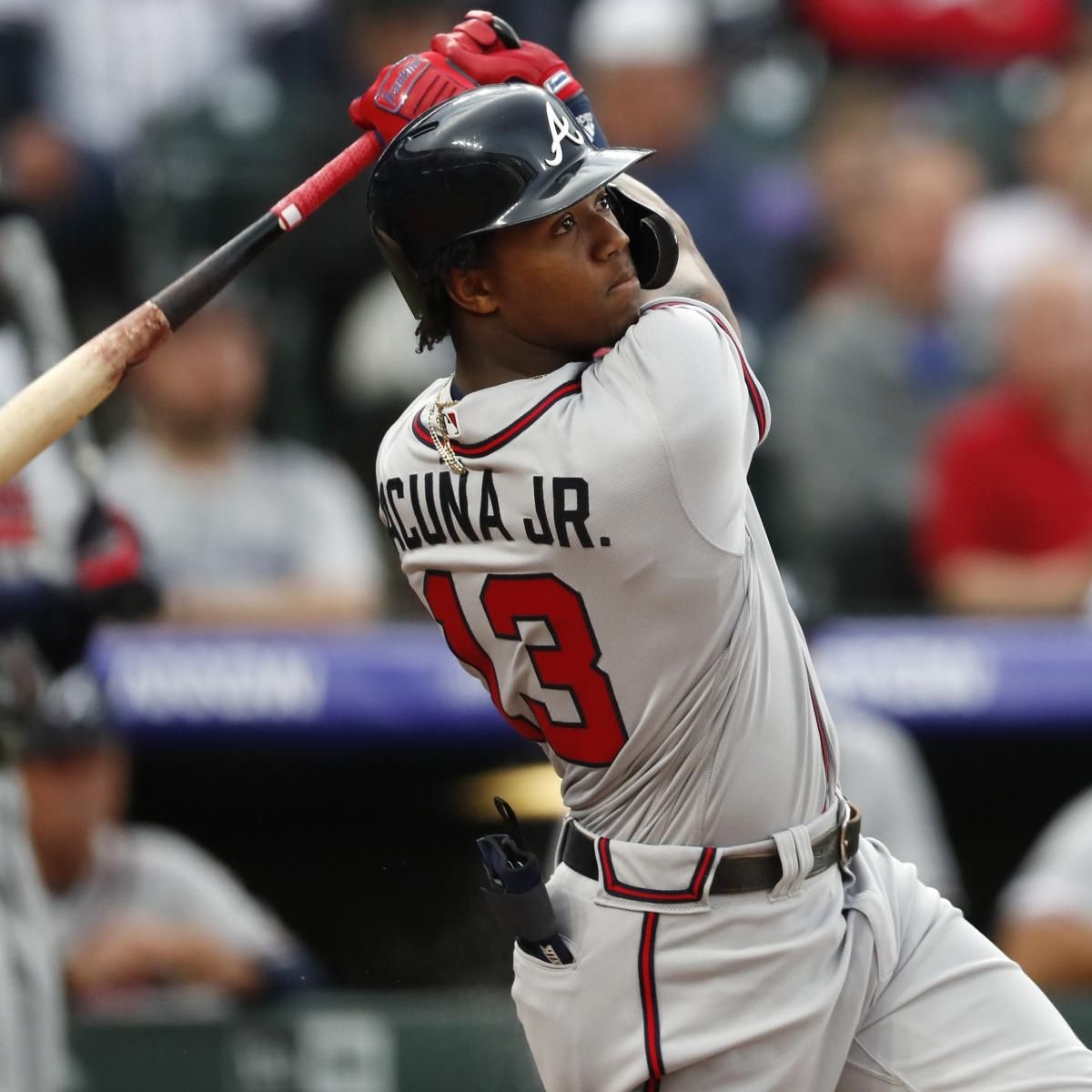 Ronald Acuna Jr Is Poised To Make A Mockery Of His 100 Million Megadeal Braves Baseball Atlanta Braves Braves