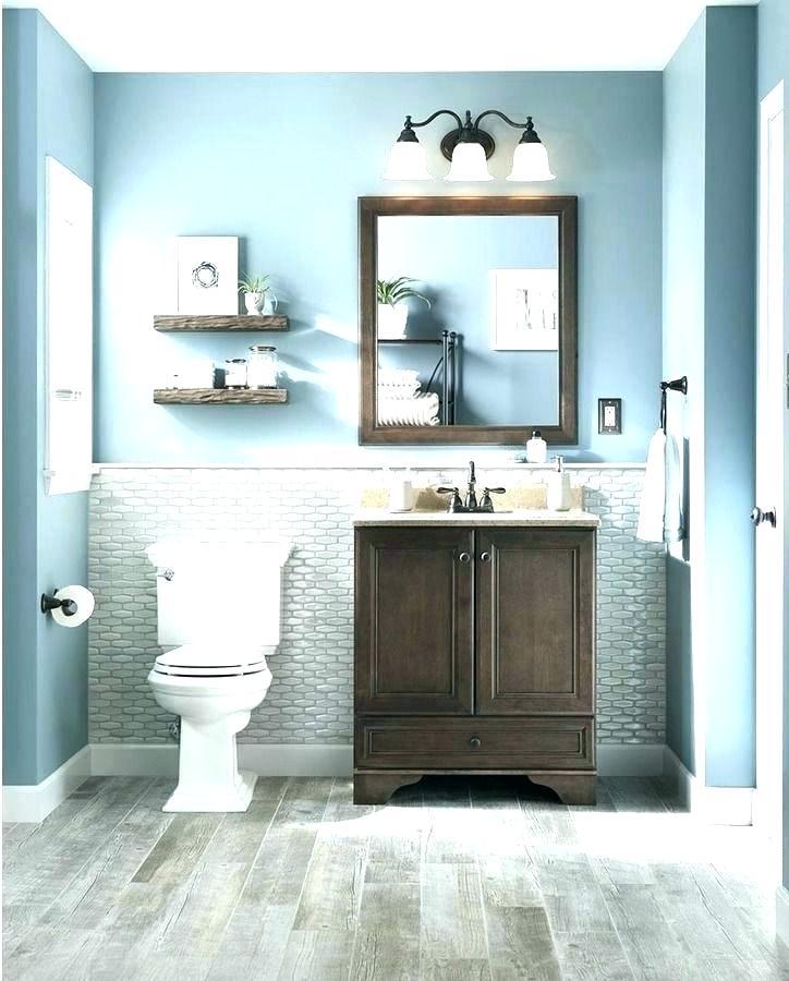Blue And Gray Bathroom Ideas Blue Gray Bathroom Ideas Basement Bathroom Ideas On Basement Ba In 2020 Gray Bathroom Decor Small Bathroom Decor Bathroom Decor Themes