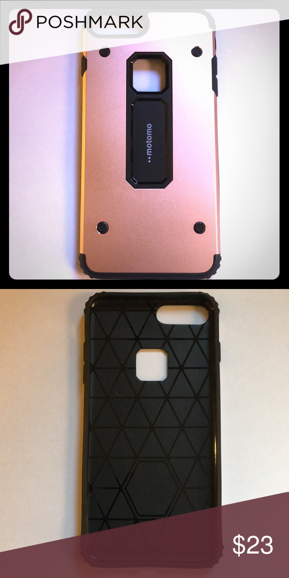 Iphone 7 Plus Rose Gold And Black Cover Case Boutique Rose Phone
