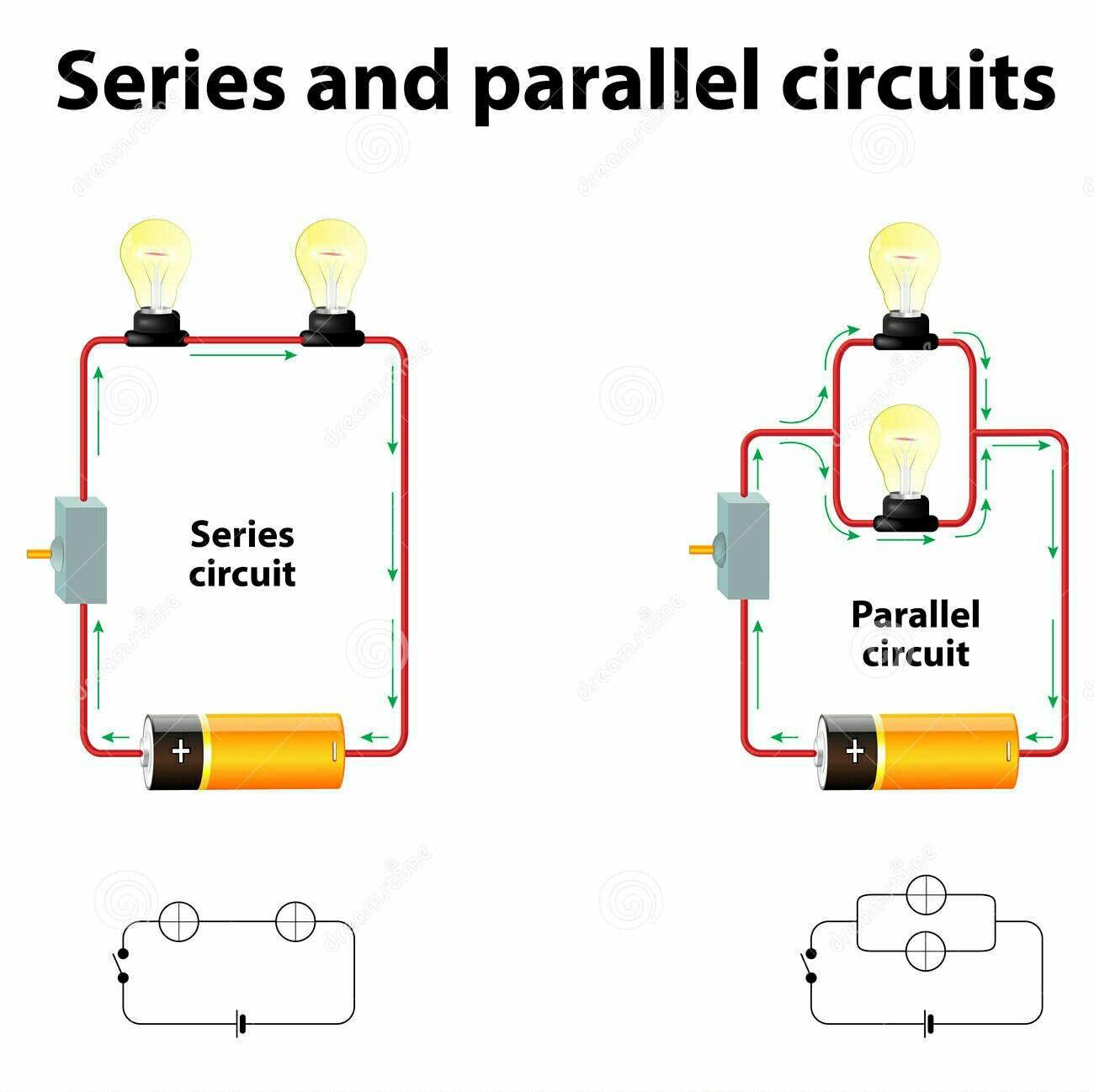 Series Amp Simple Circuit For Grade 5