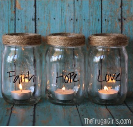 Dream House collected Mason Jar Candle in Mason jar crafts. And Mason Jar is the great Mason Jar decor ideas for 79 people. Explore and get creative home ... & DIY Mason Jar Candles | house | Pinterest | Jar candle Place holder ...