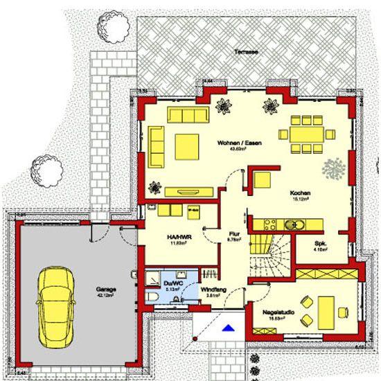 Grundrisse einfamilienhaus ohne keller Grundriss