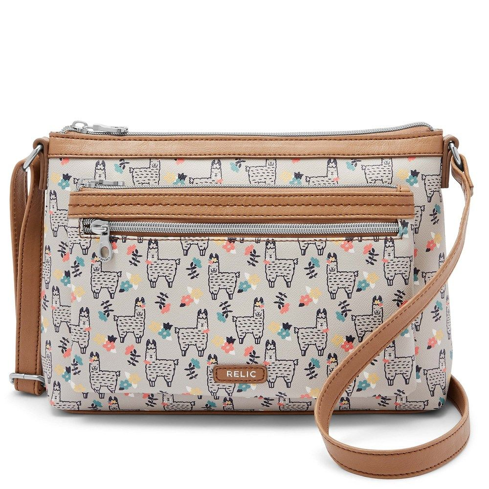 97c80164b8b0 Relic by Fossil Evie Crossbody Bag, Women's, Dark Beige | Products ...