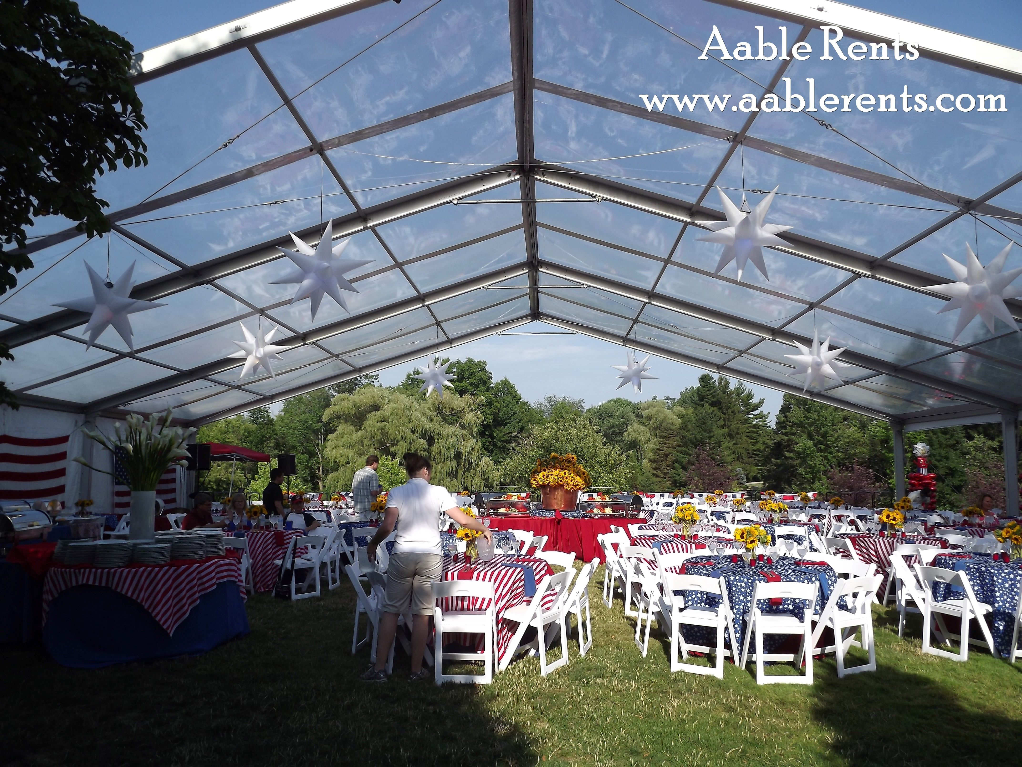 Tent - Clear vinyl and no gable ends - WOW! & Tent - Clear vinyl and no gable ends - WOW!! | Clearspan Tents ...