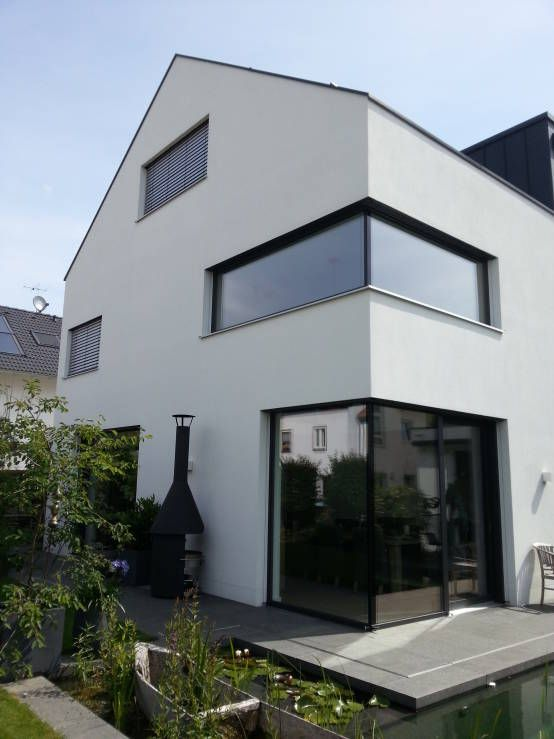 ein einfamilienhaus zum verlieben house and exterior. Black Bedroom Furniture Sets. Home Design Ideas