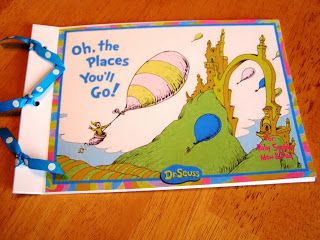 Busy Lizzy's: Dr. Suess Baby Shower {Advice Book}