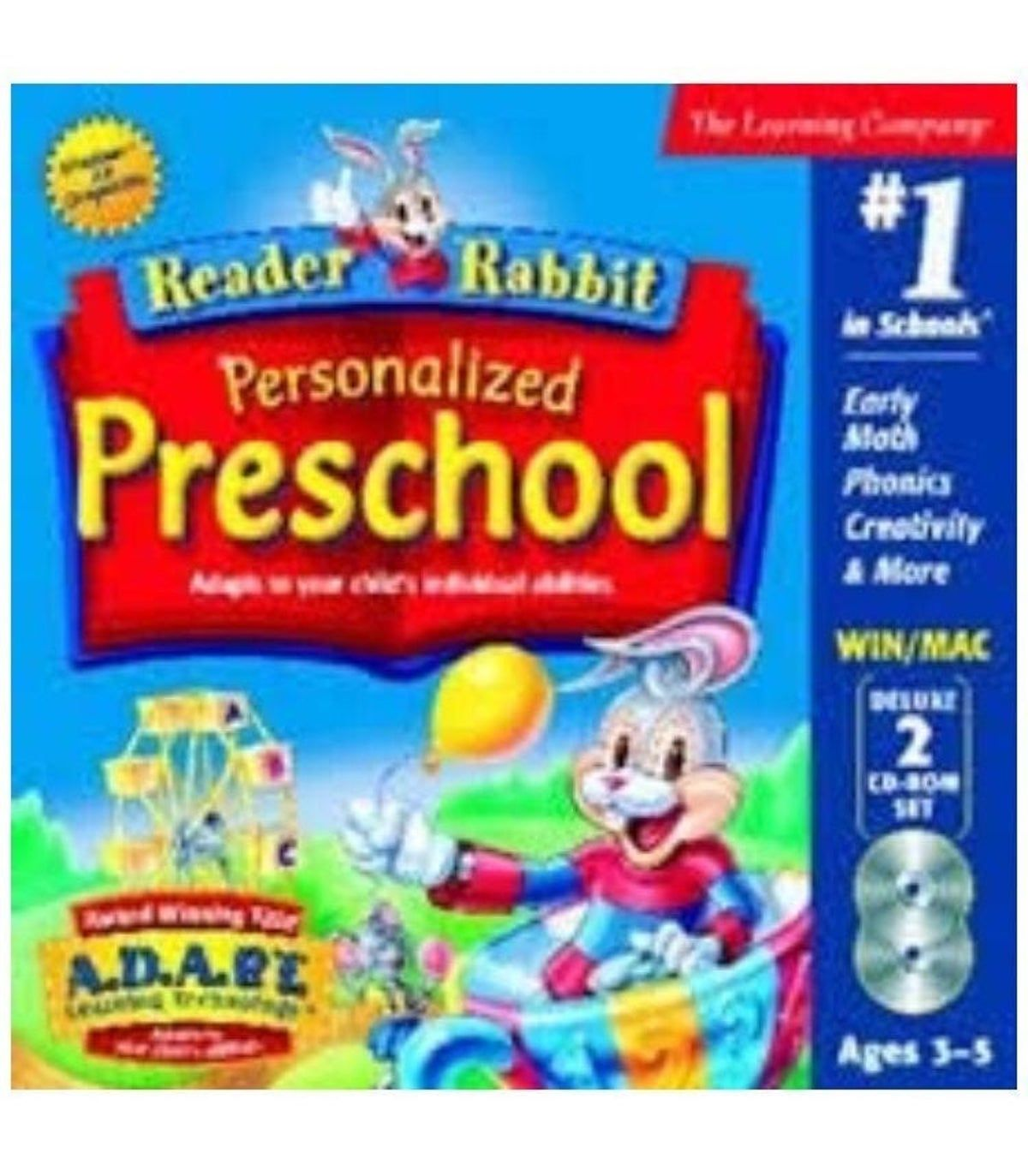 Reader Rabbit Preschool PC ( New ) on Mercari in 2020
