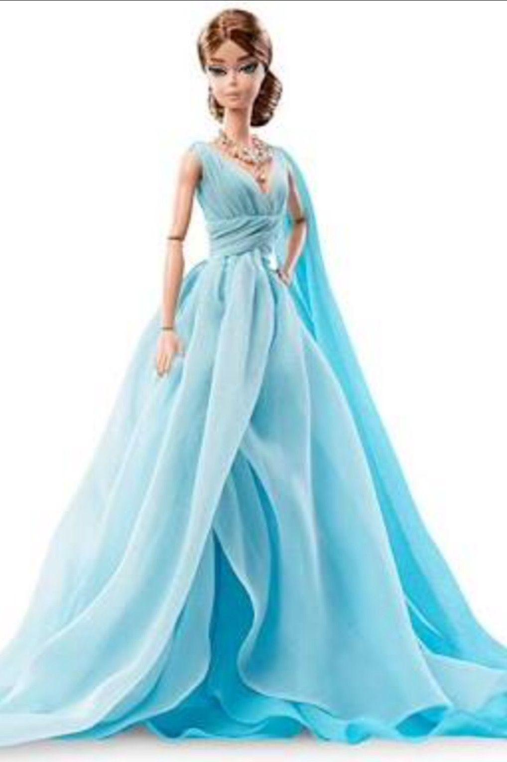 Vestido de FIESTA | Barbie | Pinterest | Barbie, Muñecas de moda y ...