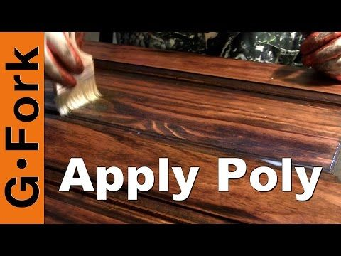 Staining Wood With Fire Another Use For Torch Besides Melting Silver Youtube How To Apply Polyurethane Staining Wood Polyurethane Floors