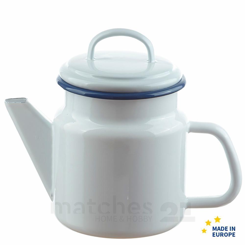 Email Bzw Emaille Wie Es Fruher Geschrieben Wurde Ist Ein Faszinierender Werkstoff Den Viele Noch Aus Kindertagen Kennen Seit Teekanne Emaille Kaffeekanne