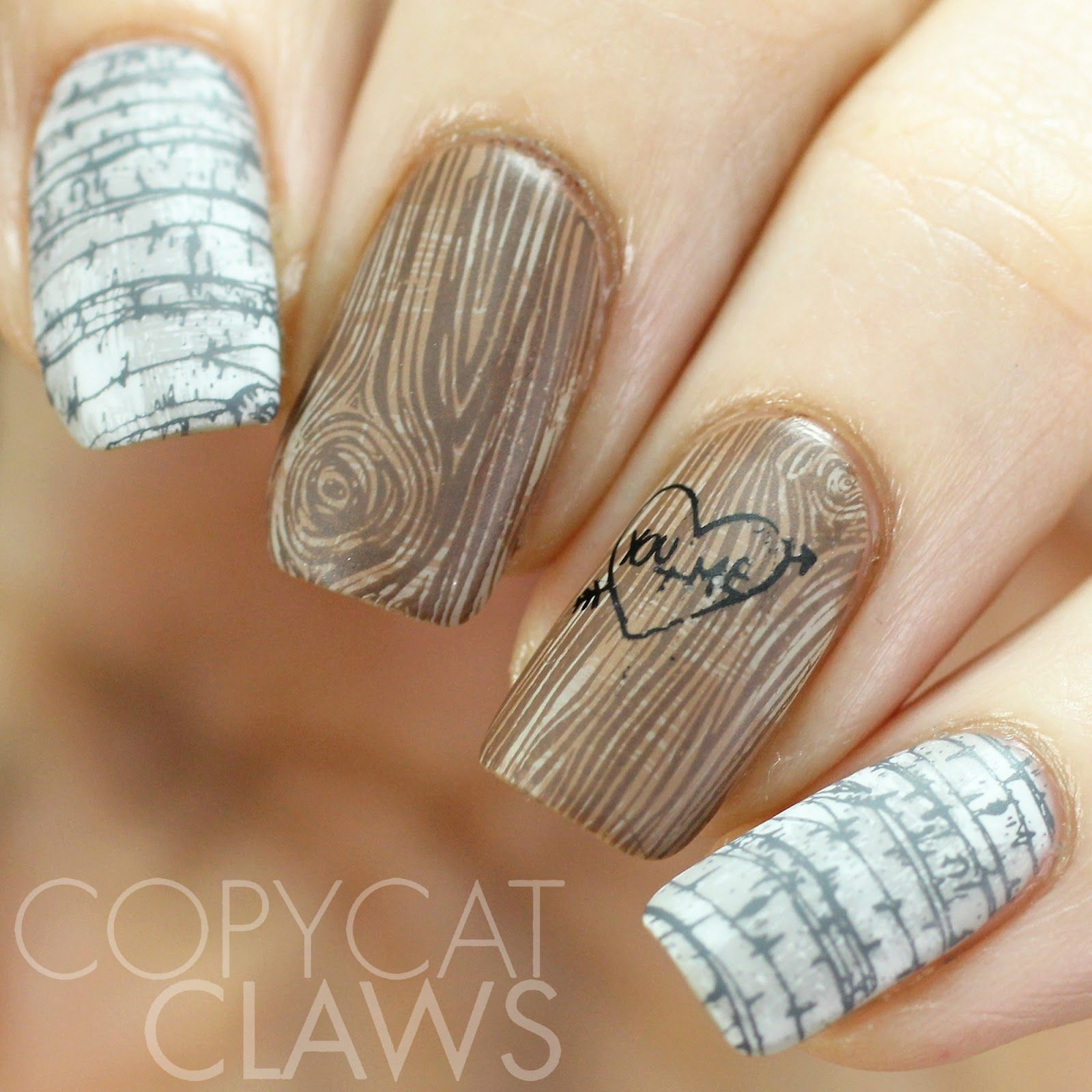 Uberchic stamping plate review uc copycat claws nail