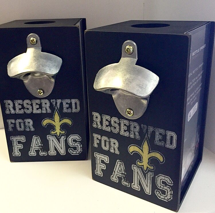 A Plus Gifts - RESERVED FOR FANS Bottle Opener, 985-276-0929