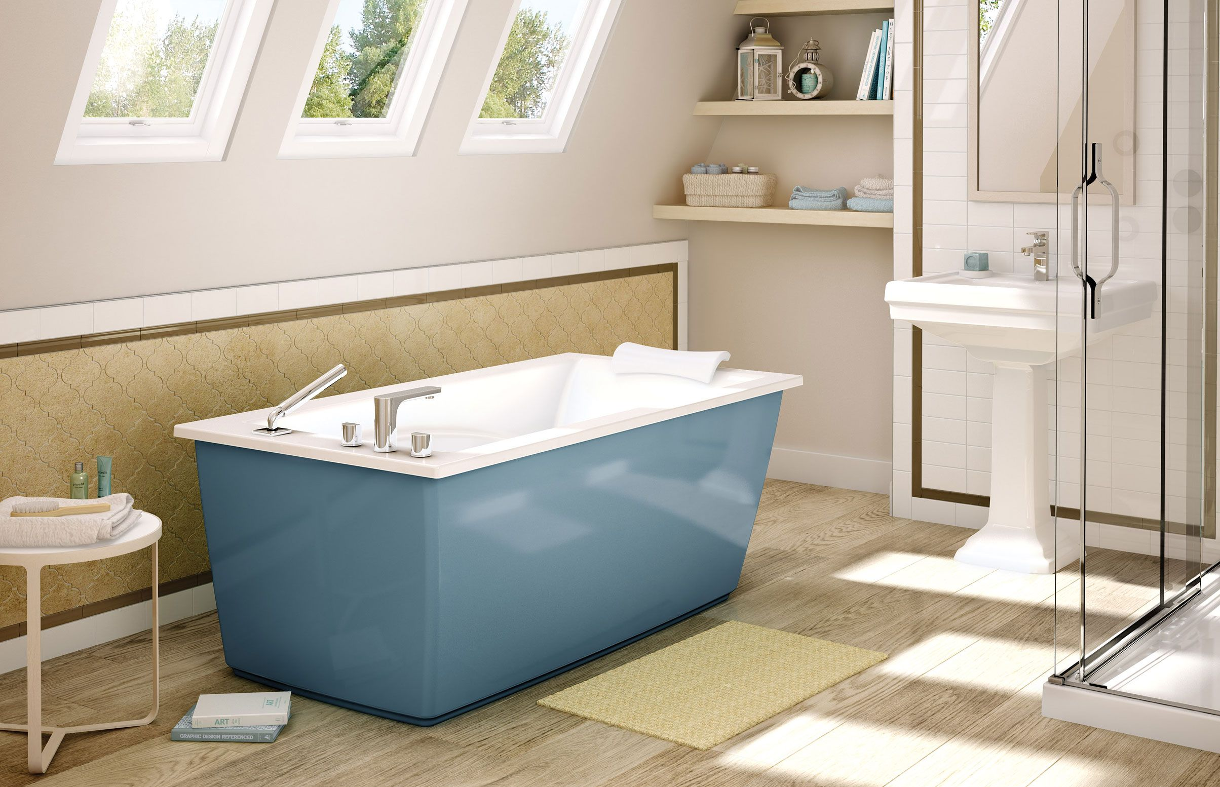 OPTIK 6032 F   Freestanding Bathtub   MAAX Collection
