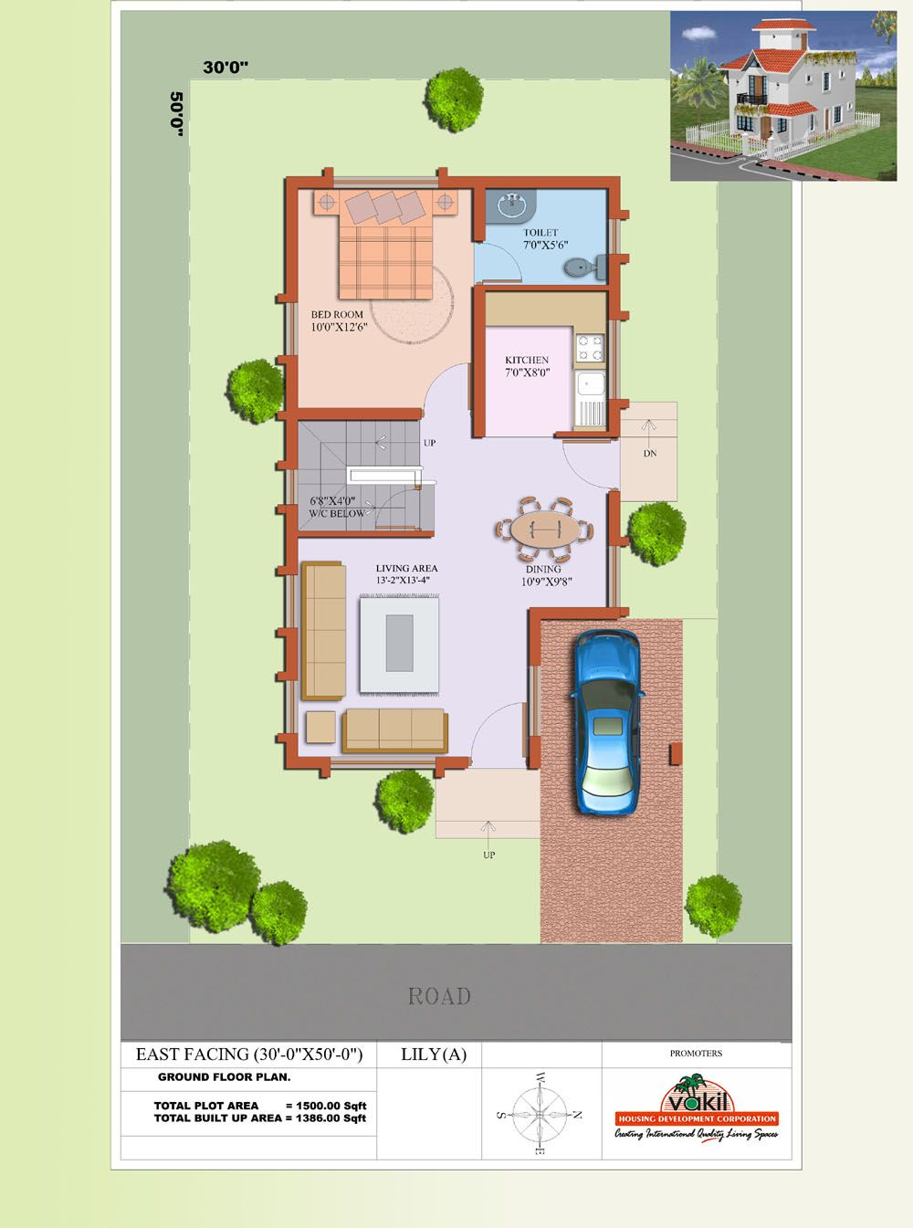 gallery of 1500sqr feet single floor low budget home with