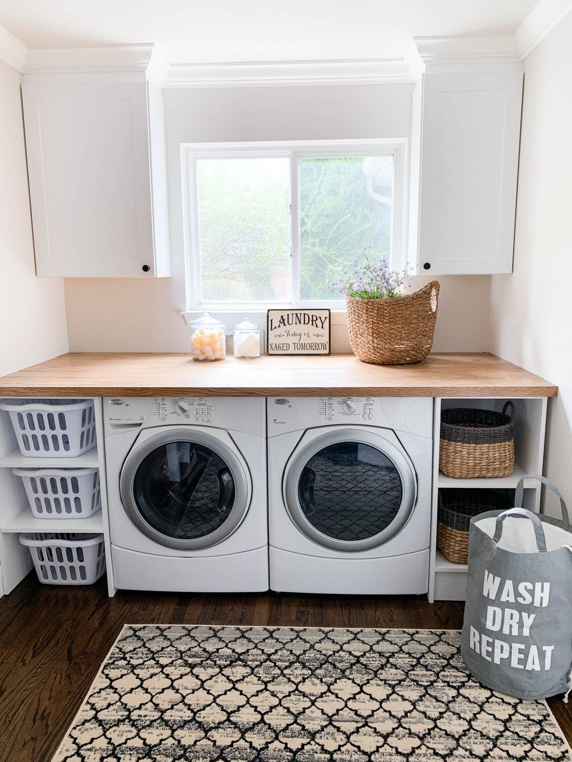 CREATING A PINTEREST PERFECT LAUNDRY ROOM