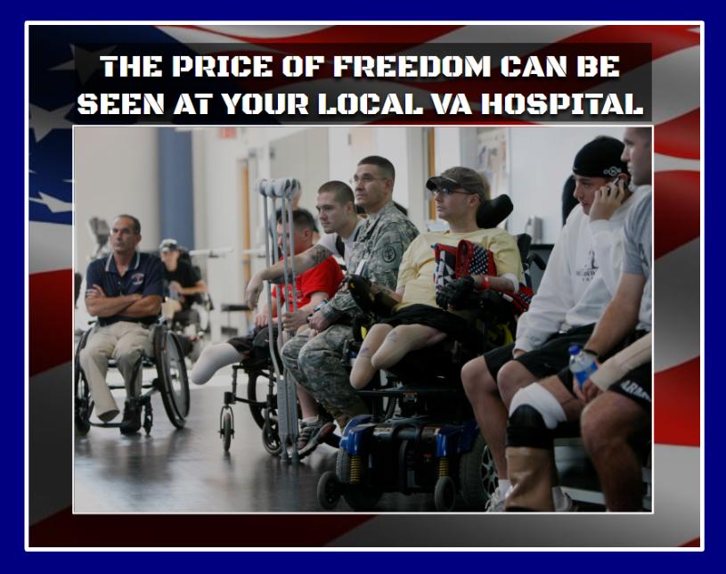 The Price Of Freedom Va Hospital Marines Baseball Cards