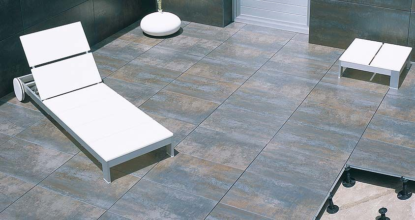 Suelo t cnico elevado para exteriores butech terrazas for Suelos para porches