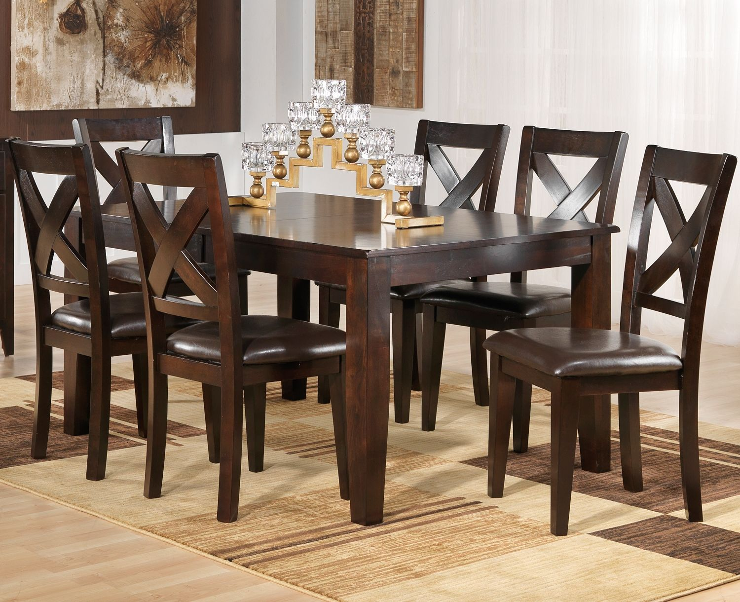 soho dining room 7 pc. dining set - leon's | leons wish list