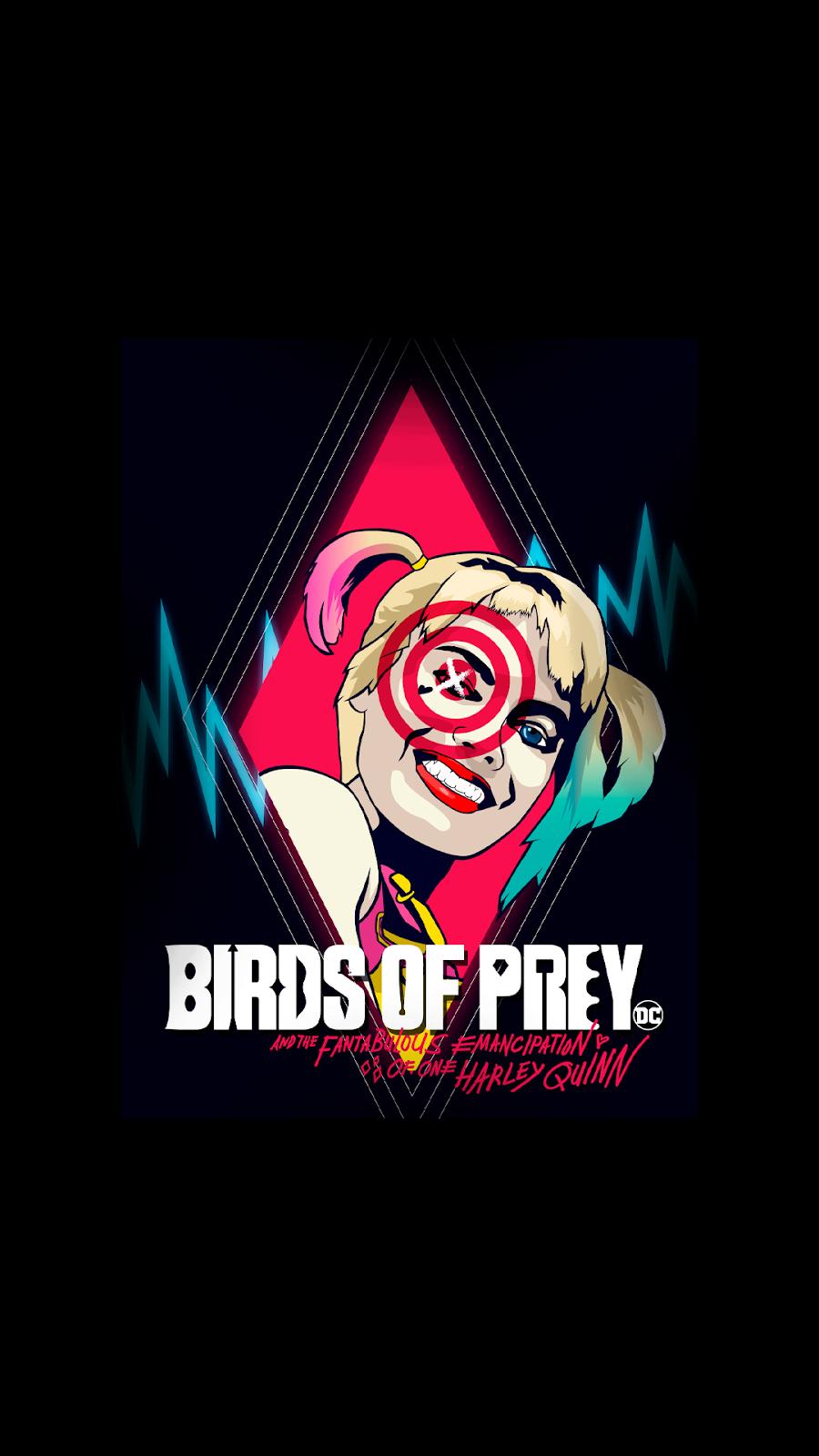 Birds Of Prey Phone Wallpaper Collection Em 2020 Wallpapers Arlequina Arlequina Desenho Aves De Rapina