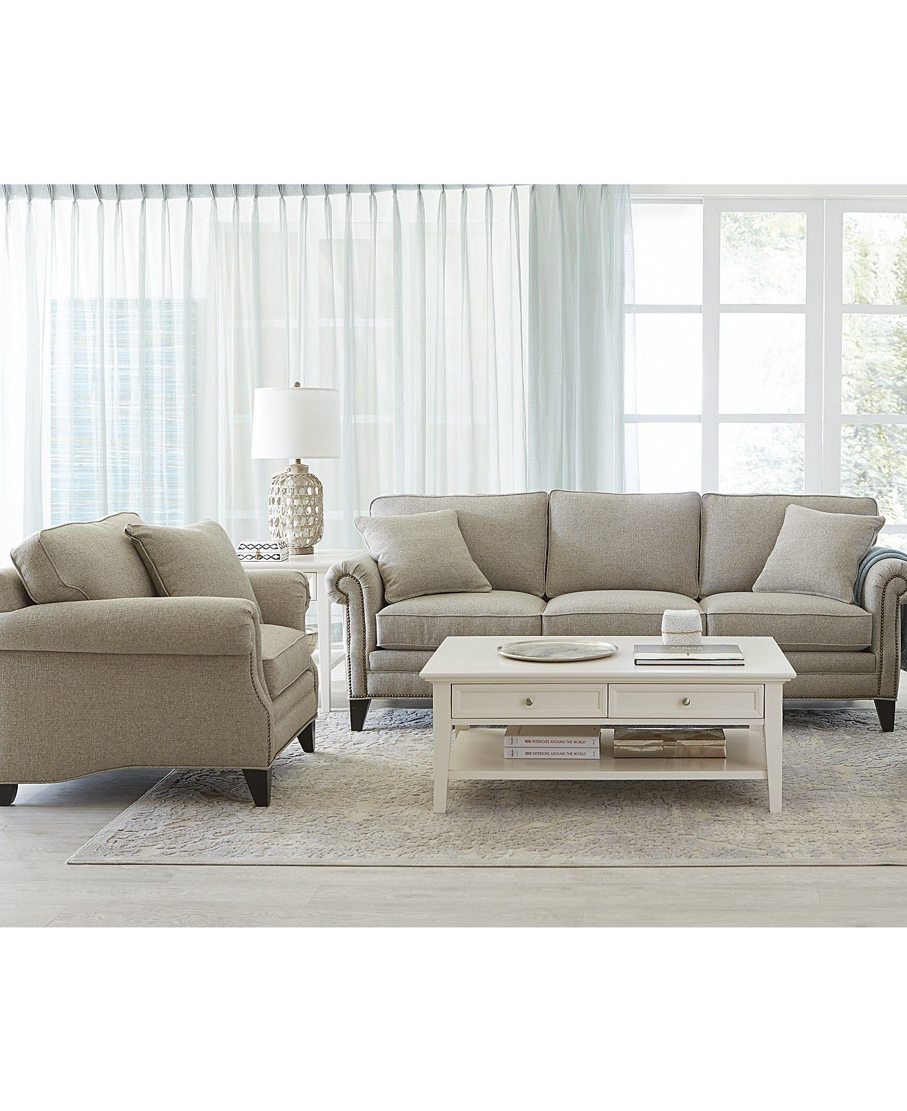 Living Room Furniture Collections Color Ideas For Red Scarlette Fabric Sofa Collection Macy S