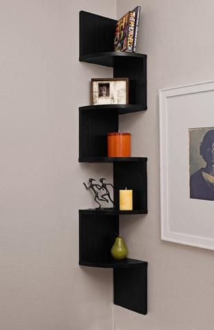 High Gloss Corner Shelves Designed To Suit All Living Areas Of The Home You Can Be Sure Of A Quality Constru Wall Mounted Shelves Shelves Large Corner Shelf