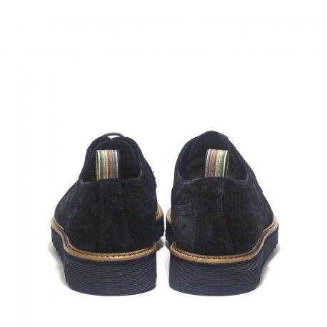 Precioso zapato de ante azul tipo Yokus. blucher marca Yokus. tipo Elegante y 48e899