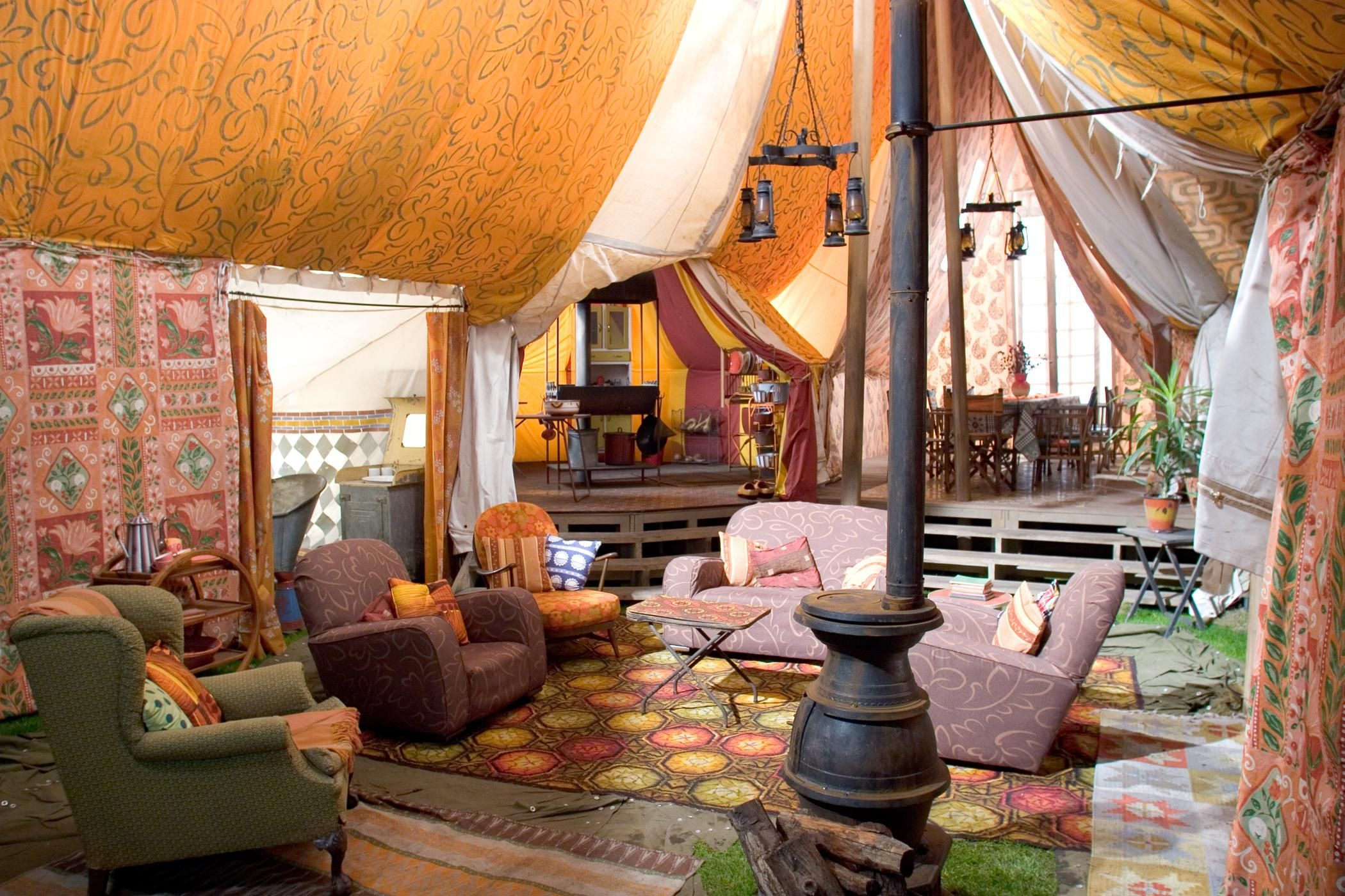 How to achieve a bohemian style for your home | Tents, Harry ...